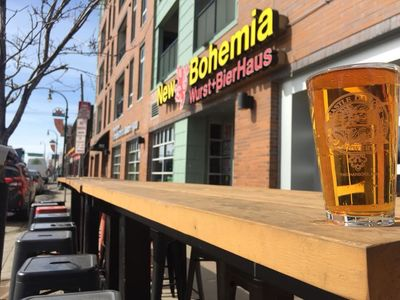 A photo of New Bohemia, Lake Street