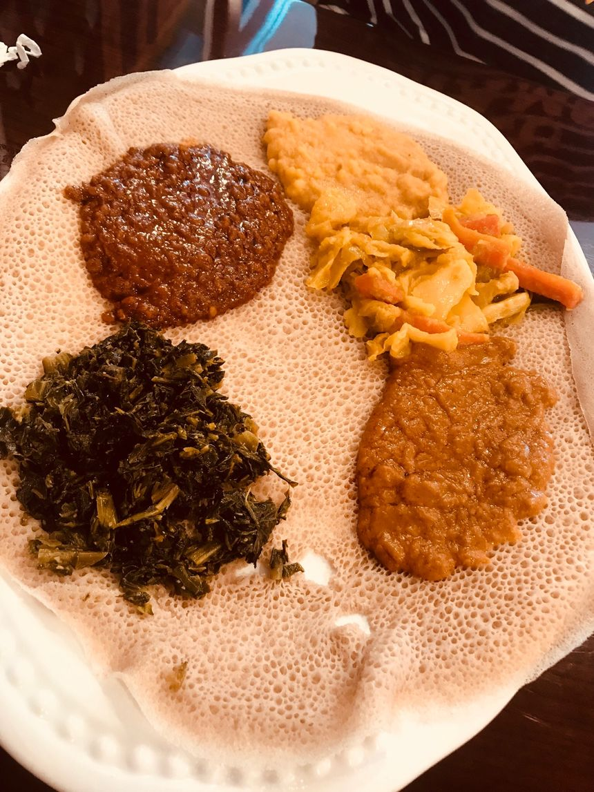 A photo of Dama Ethiopian Restaurant Pastry and Café