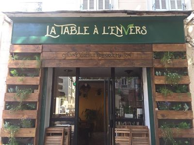 A photo of La Table à l'Envers