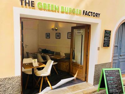 A photo of The Green Burger Factory