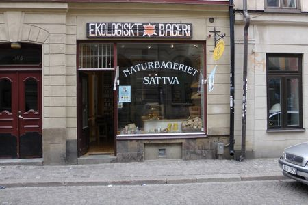 A photo of Naturbageriet Sattva, Gamla Stan