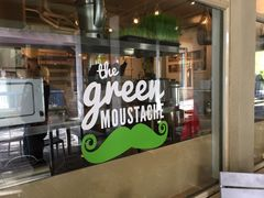 A photo of The Green Moustache Organic Café