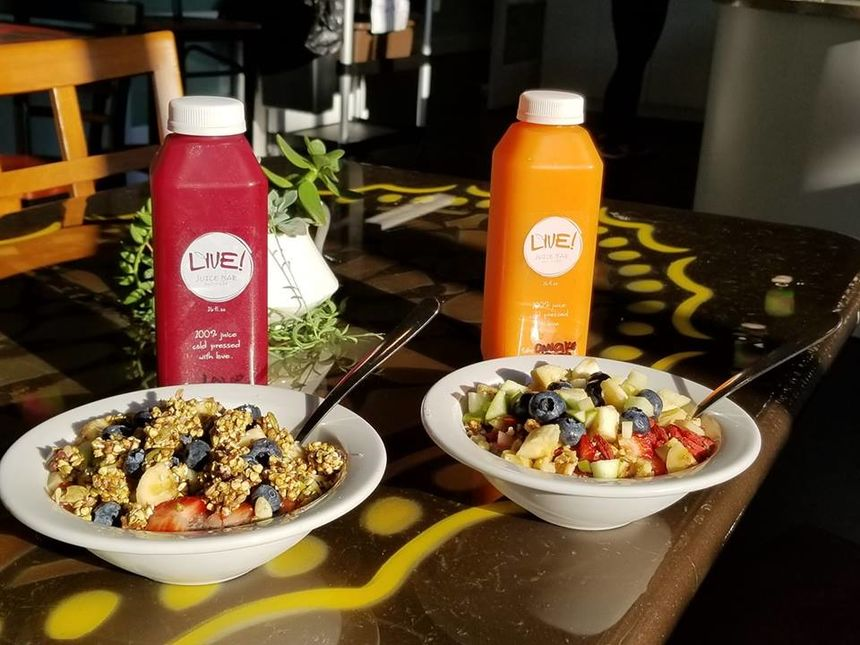 Live! Raw Juice Bar & More