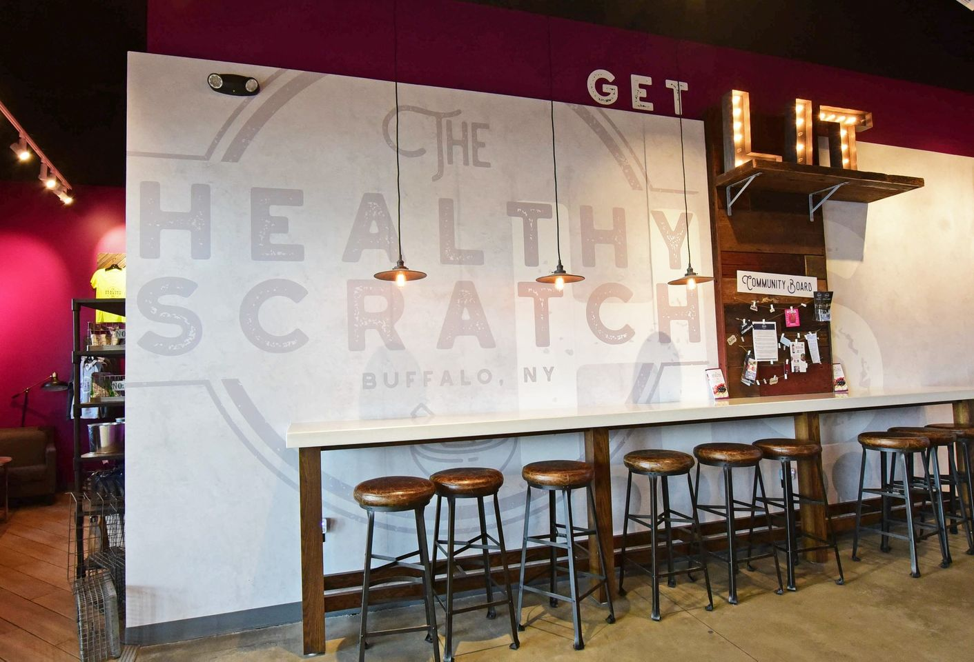 A photo of The Healthy Scratch, Harborcenter