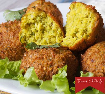 A photo of Tawouk & Falafel