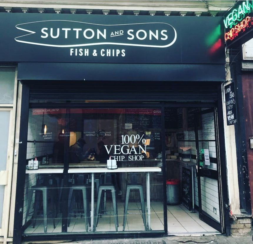Sutton and Sons Vegan Chip Shop