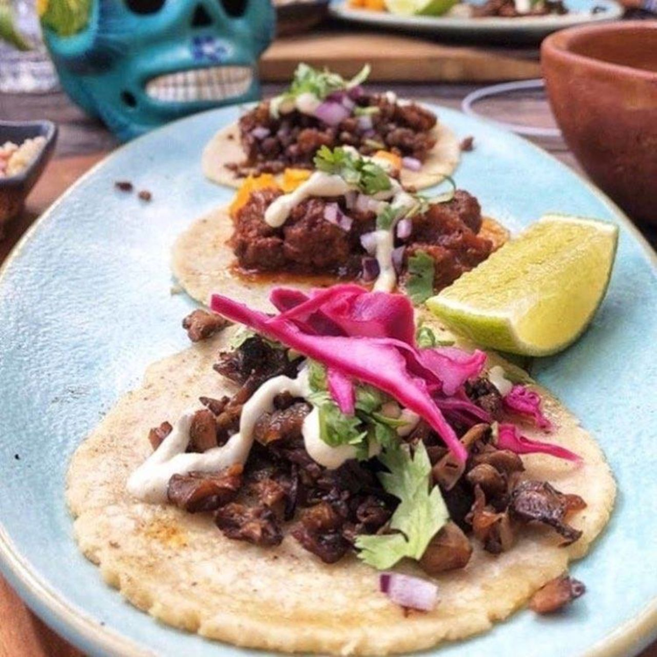 A photo of Charly's Vegan Tacos