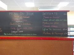 A menu of Le Bistrot Gessien