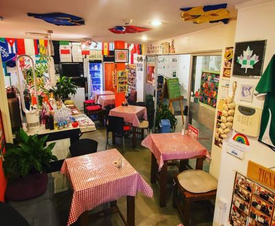 A photo of Romani Cafe