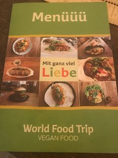 A menu of World Food Trip