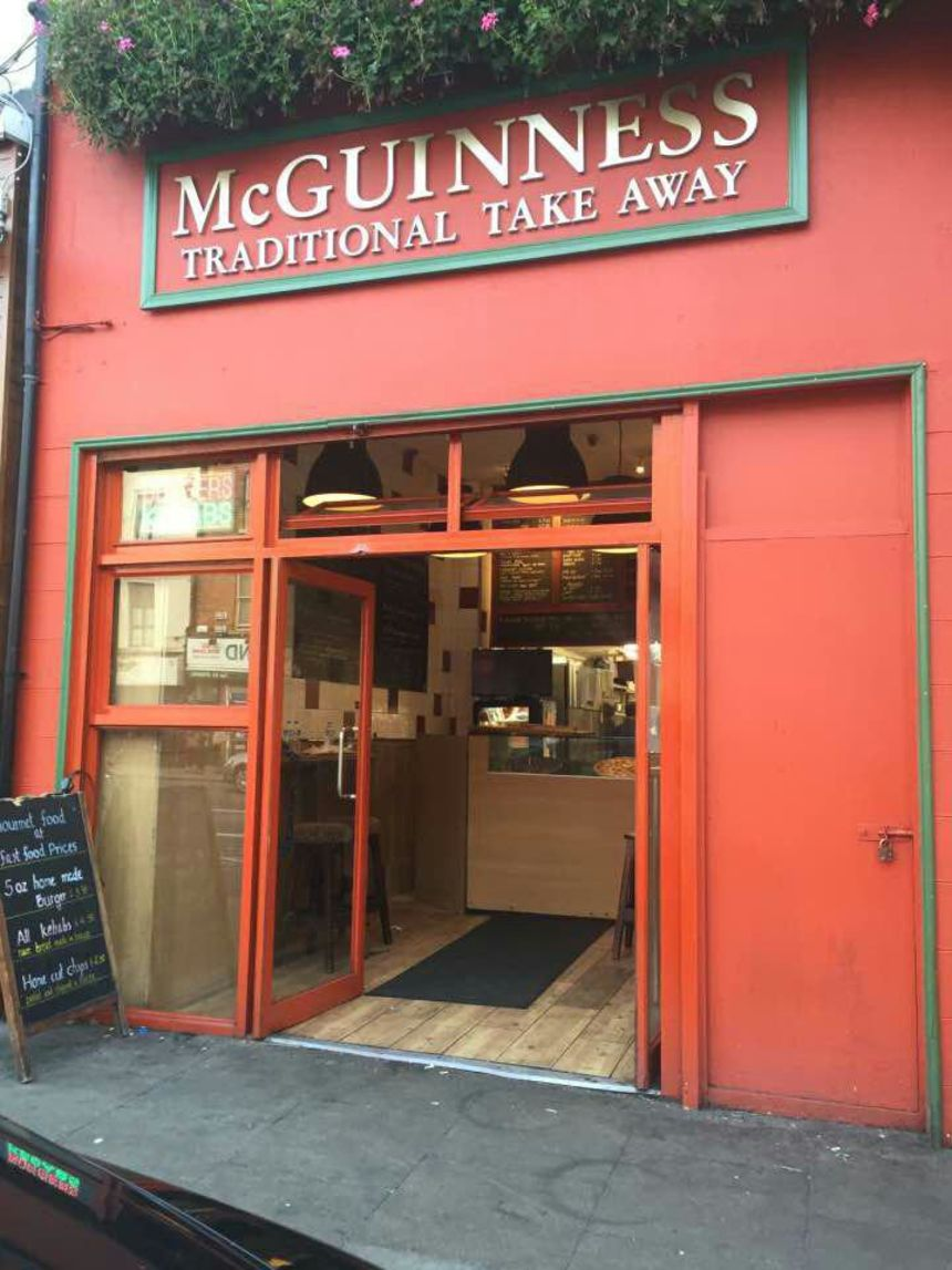 A photo of McGuinness's