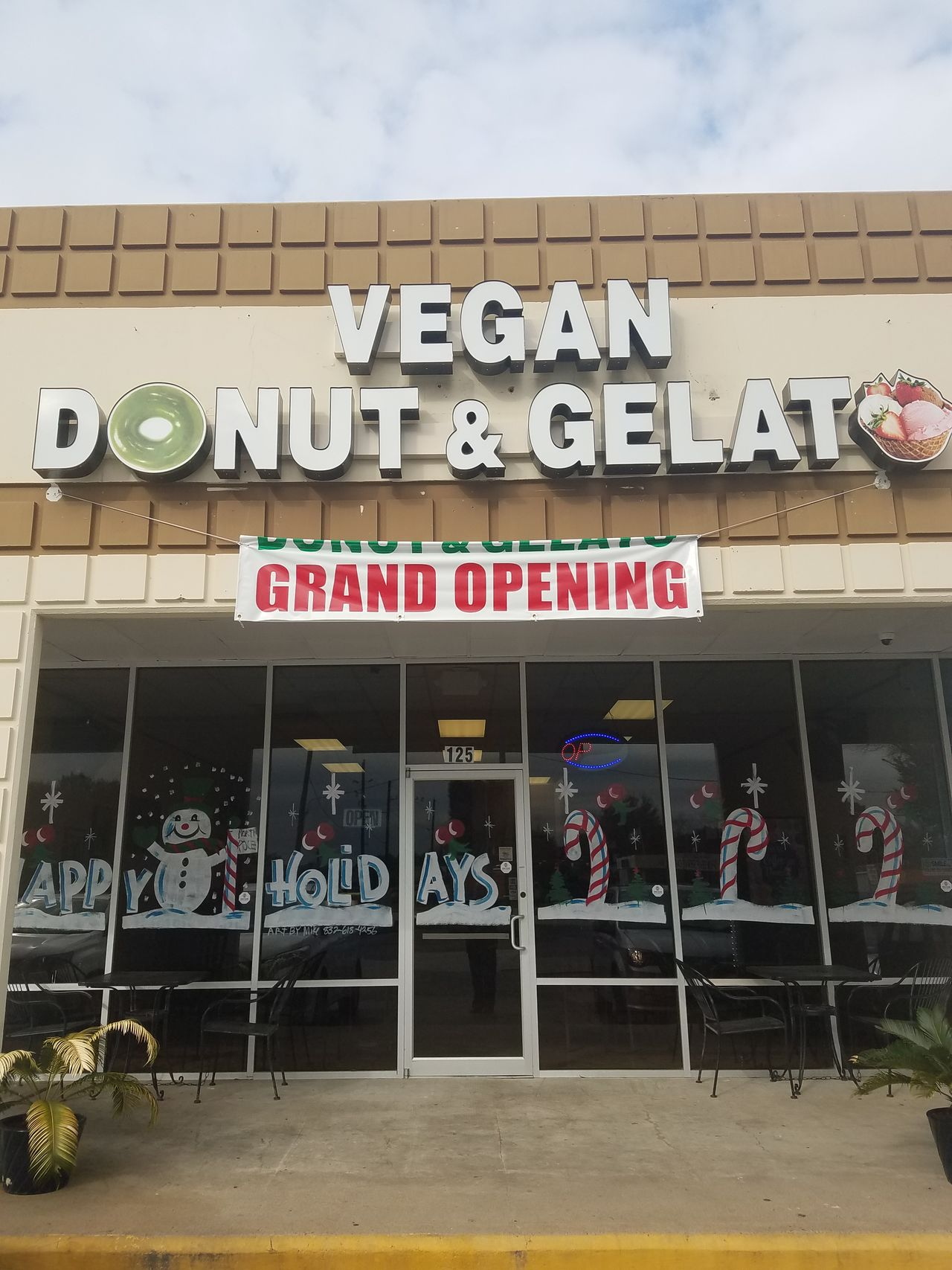 A photo of Vegan Donut & Gelato