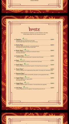 A menu of Ganesha