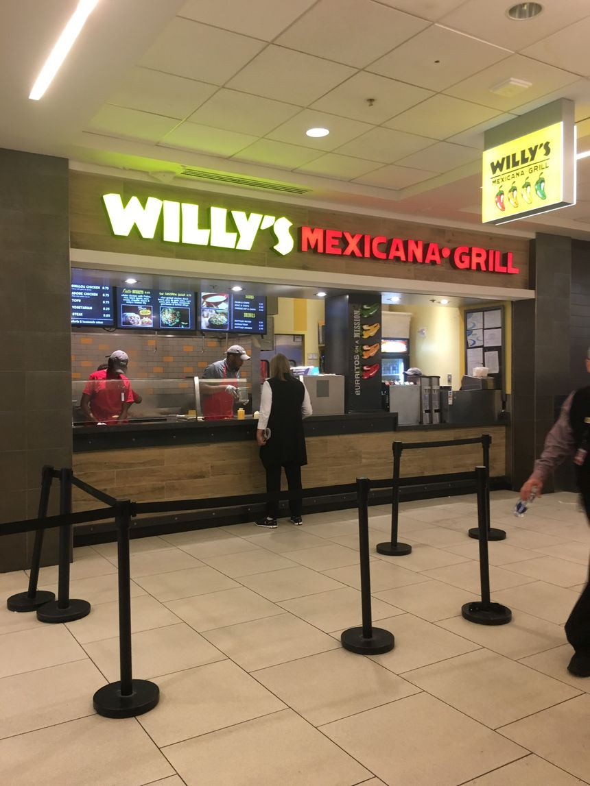 A photo of Willy's, Terminal B Food Court
