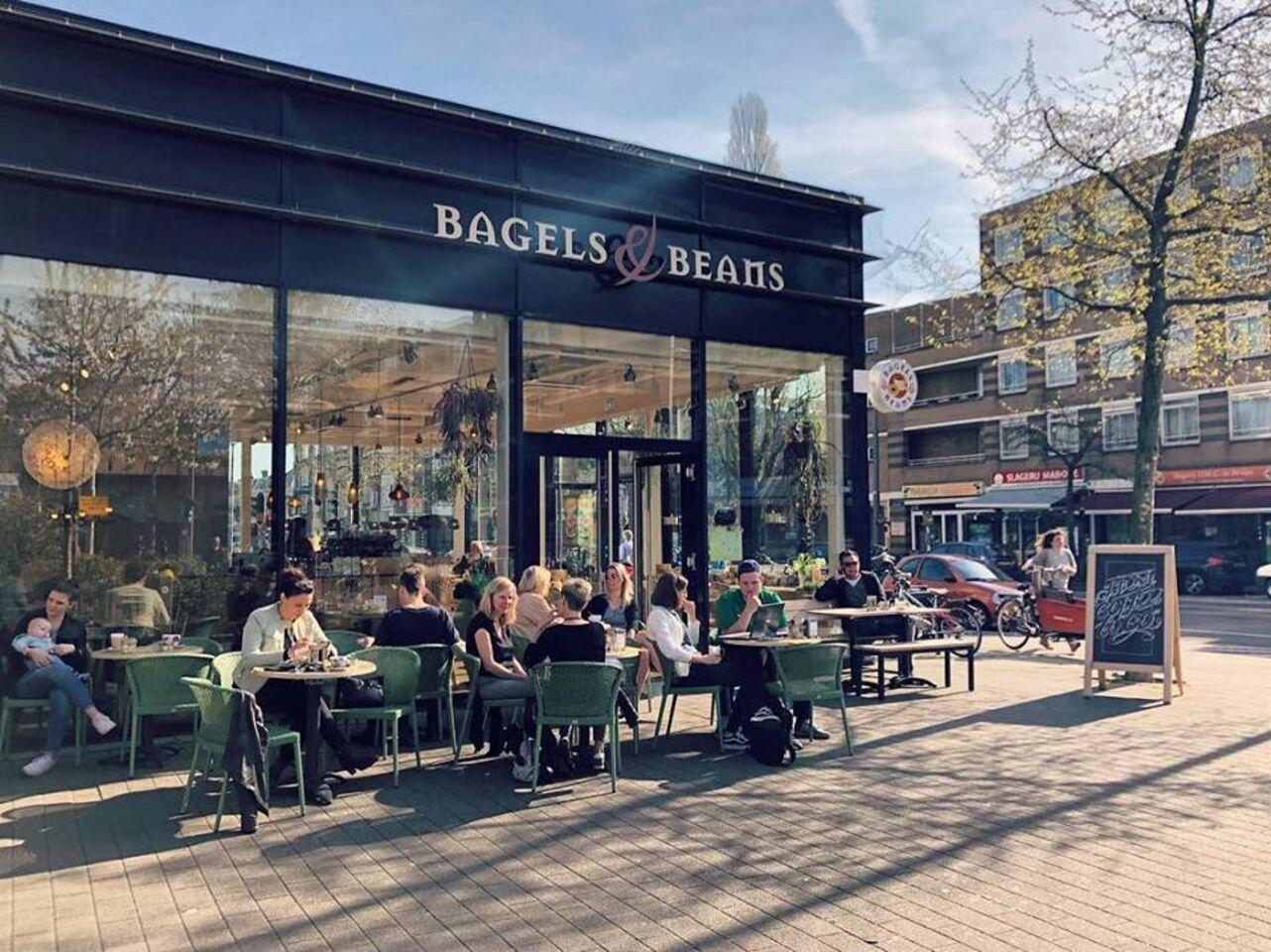A photo of Bagels & Beans, Eudokiaplein