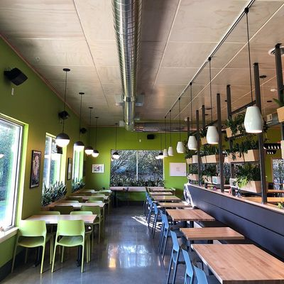 A photo of Laughing Planet, SE McGillivray Blvd