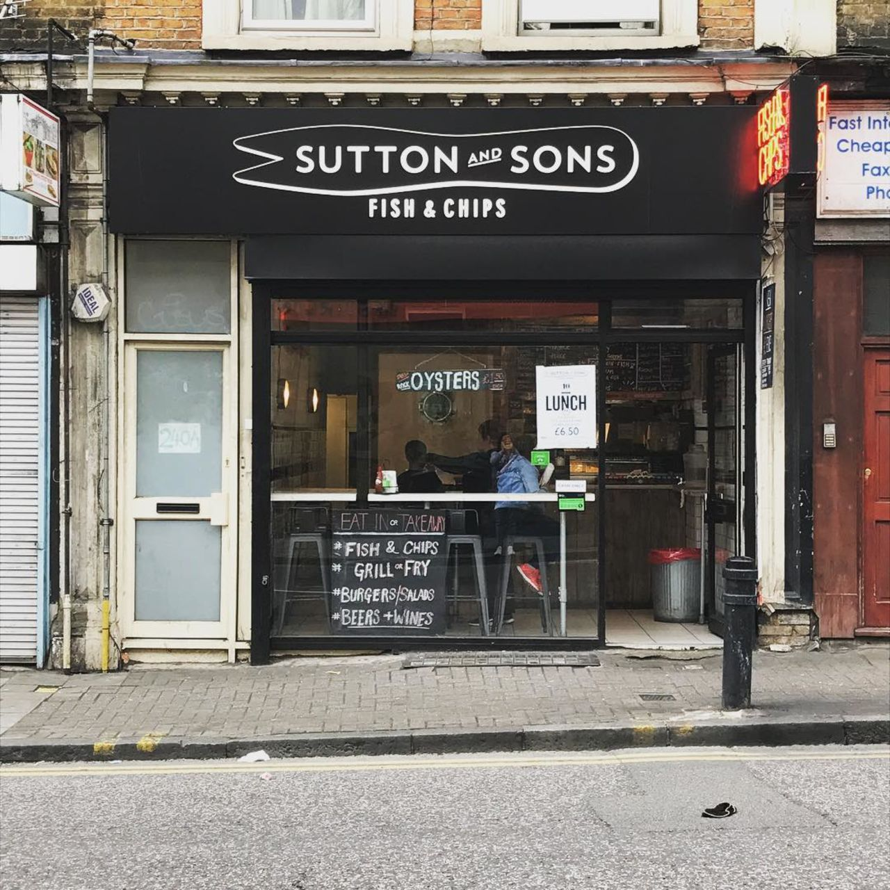 A photo of Sutton and Sons, Hackney Central