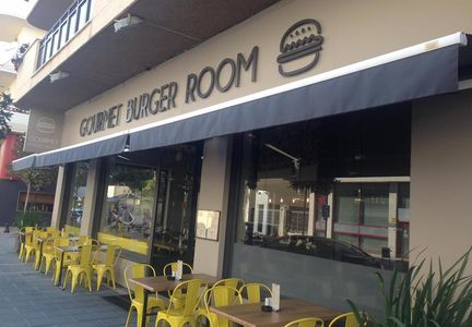 A photo of Gourmet burger room