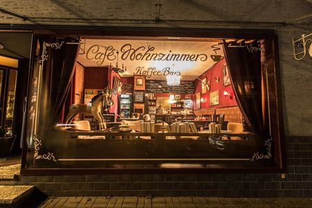 A photo of Café Wohnzimmer