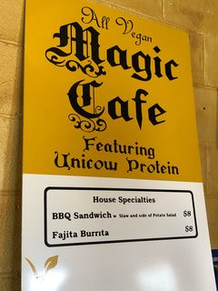 A photo of Magic Vegan Cafe