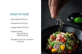 A menu of Poké You