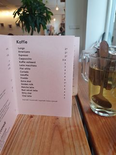A menu of Gys, Voorstraat