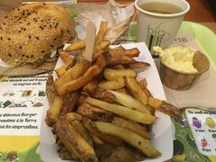 A photo of Vélicious Burger