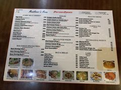 A menu of Persian Palate, Mango Square Mall