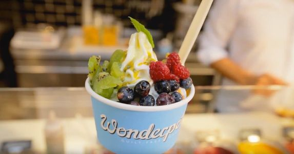 A photo of Wonderpots Frozen Yogurt