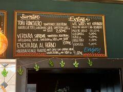 A menu of Zum kleinen Esel