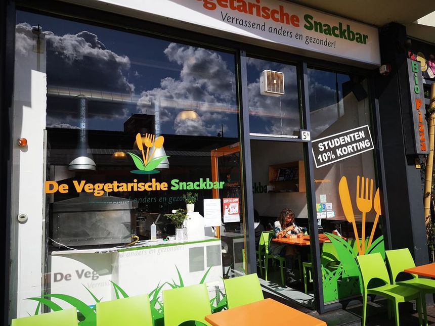 A photo of De Vegetarische Snackbar