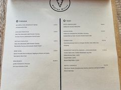 A menu of Möhren Milieu