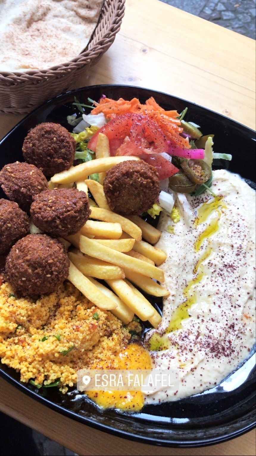 A photo of Vegan Falafel